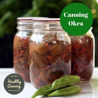 Canning okra