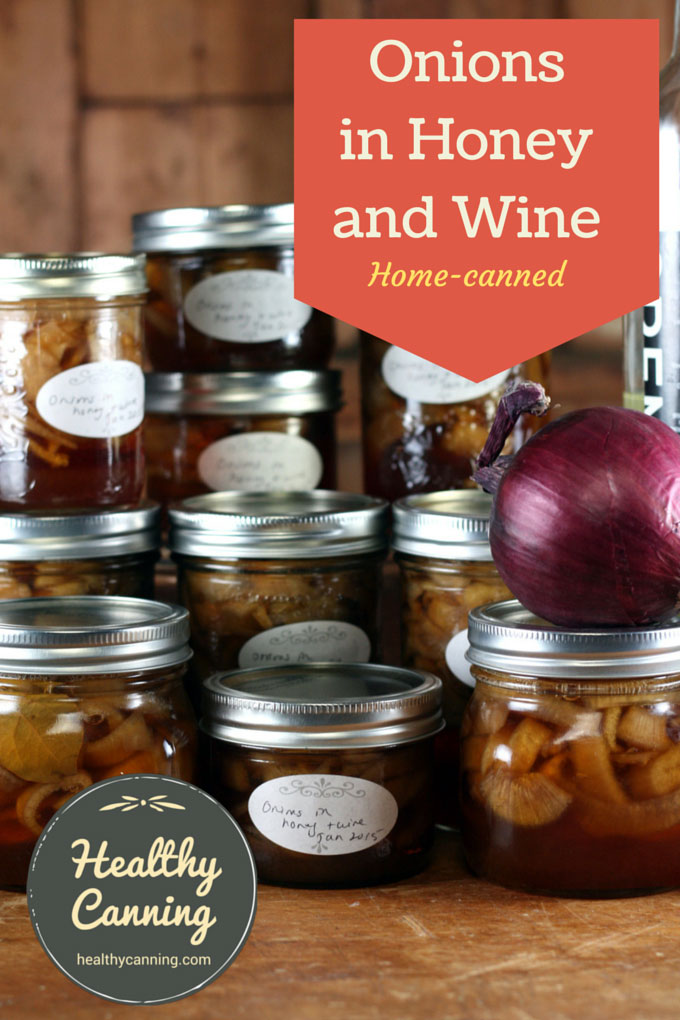 Onions in honey and wine 001