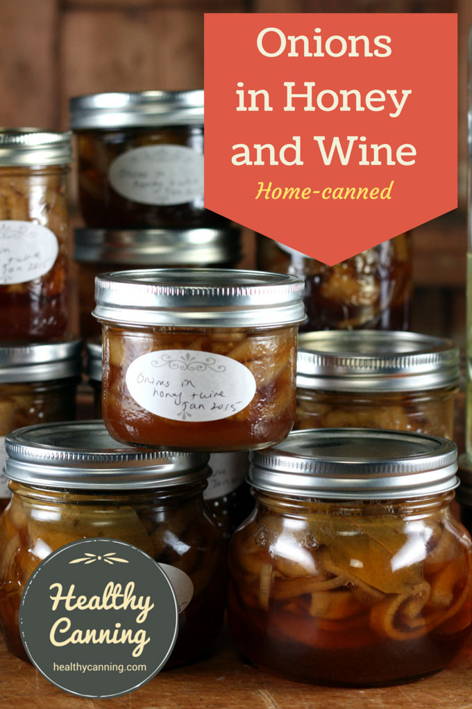 Onions In Honey And Wine Healthy Canning