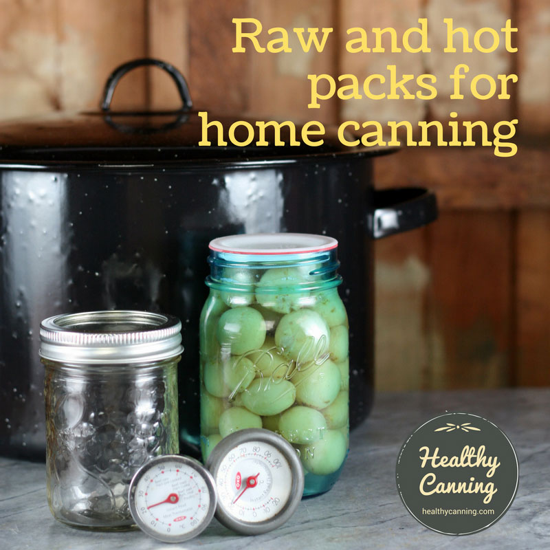 Pack types for home canning