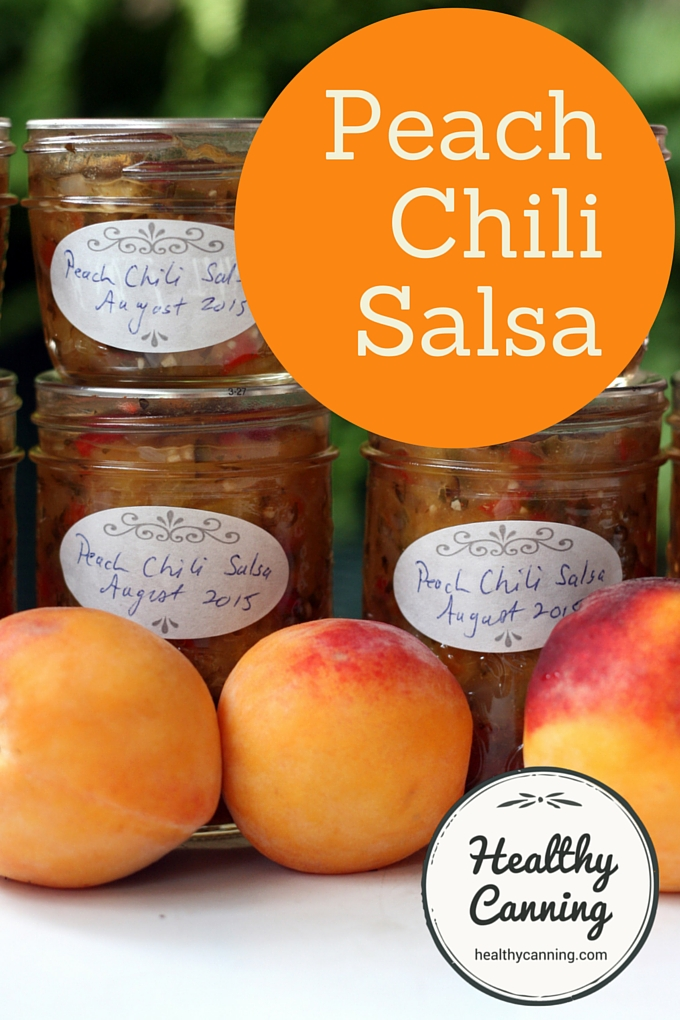 Peach Chili Salsa 2001