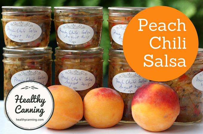 Peach Chili Salsa 2003