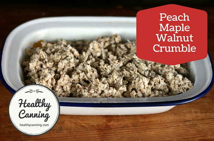 Peach Maple Walnut Crumble 2005