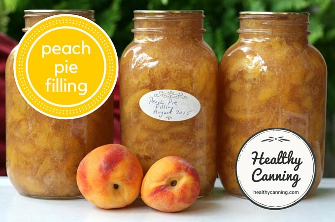 Peach Pie Filling 2004