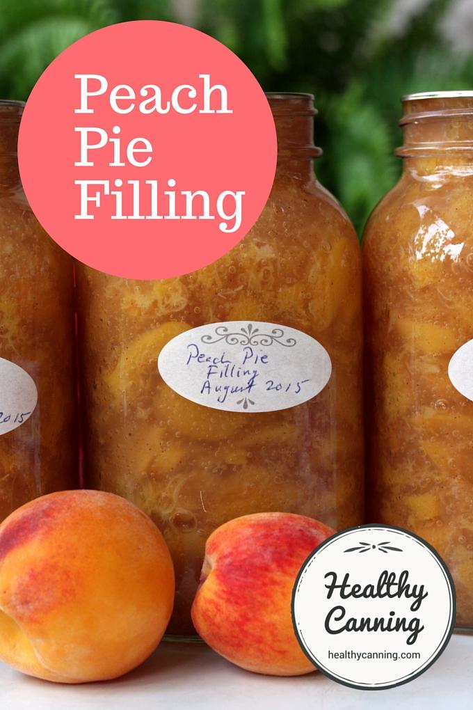 Peach Pie Filling 2005