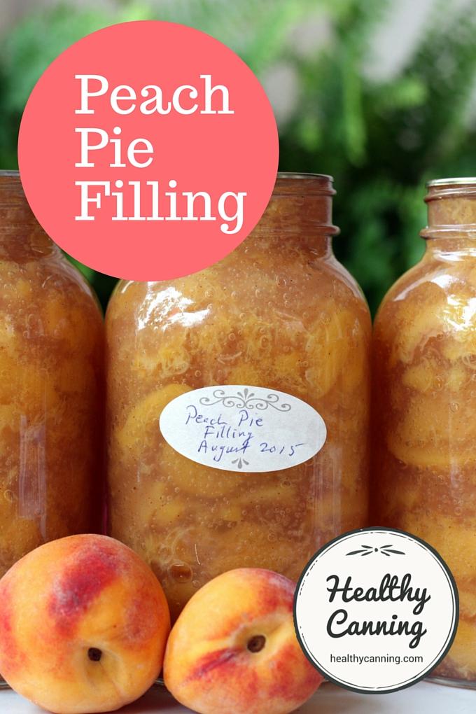 Peach Pie Filling 2006