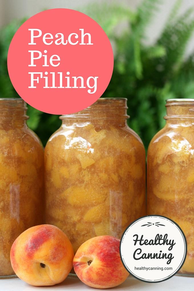 Peach Pie Filling 2008