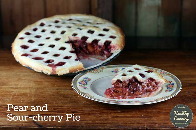pear-and-sour-cherry-pie