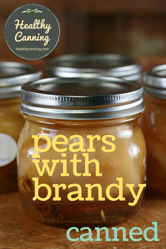 Pears with brandy 002