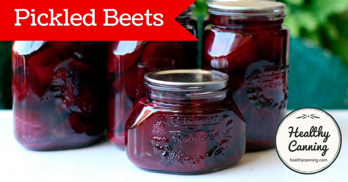 Pickled beets - Healthy Canning