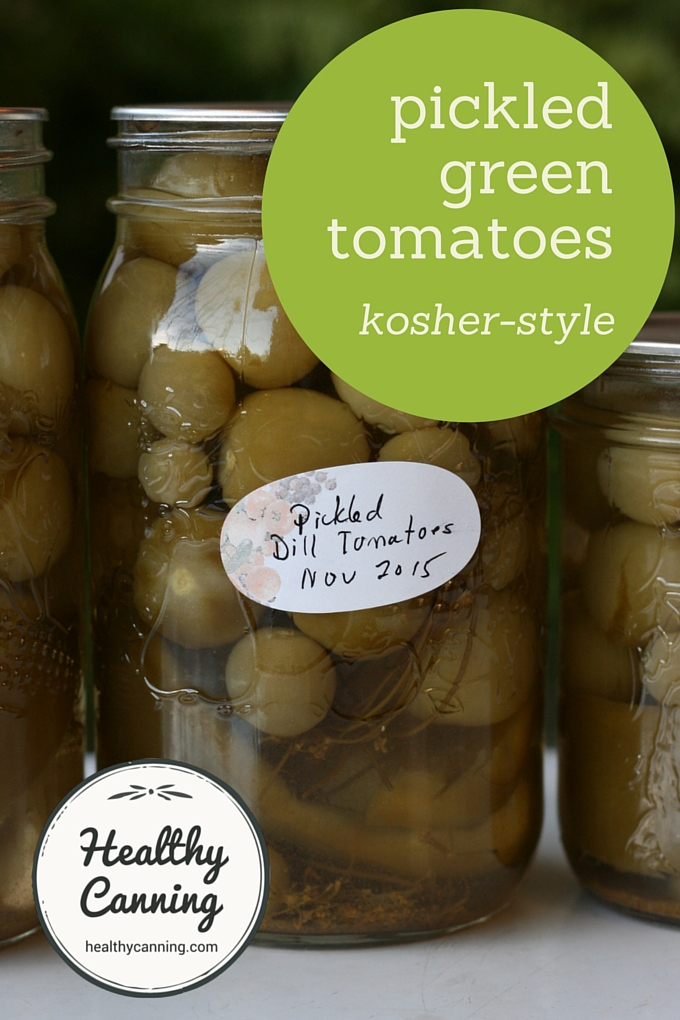 Pickled Green Tomatoes 001