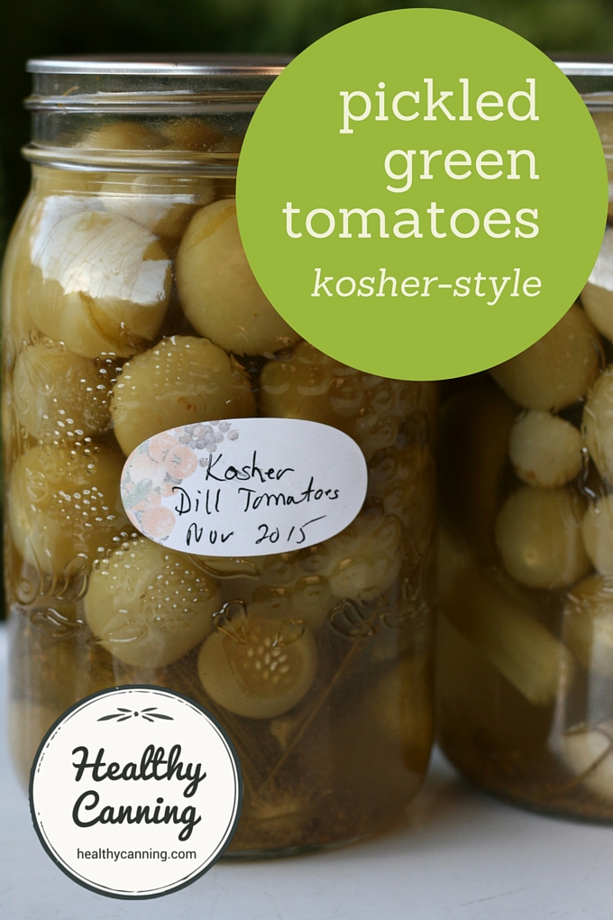 Pickled Green Tomatoes 002