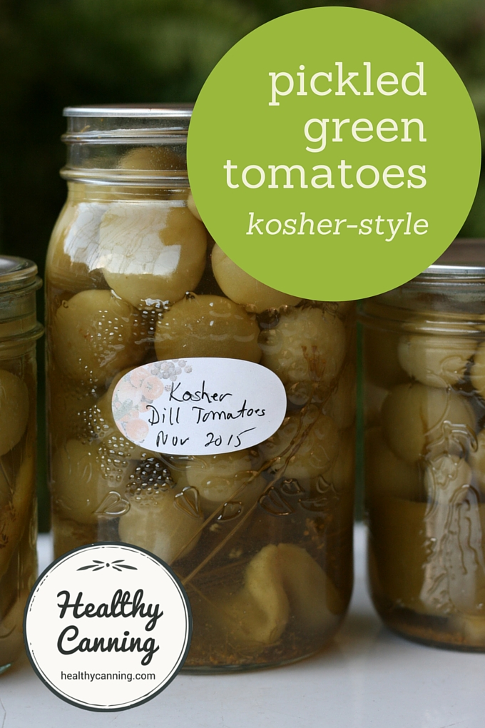 Pickled Green Tomatoes 003