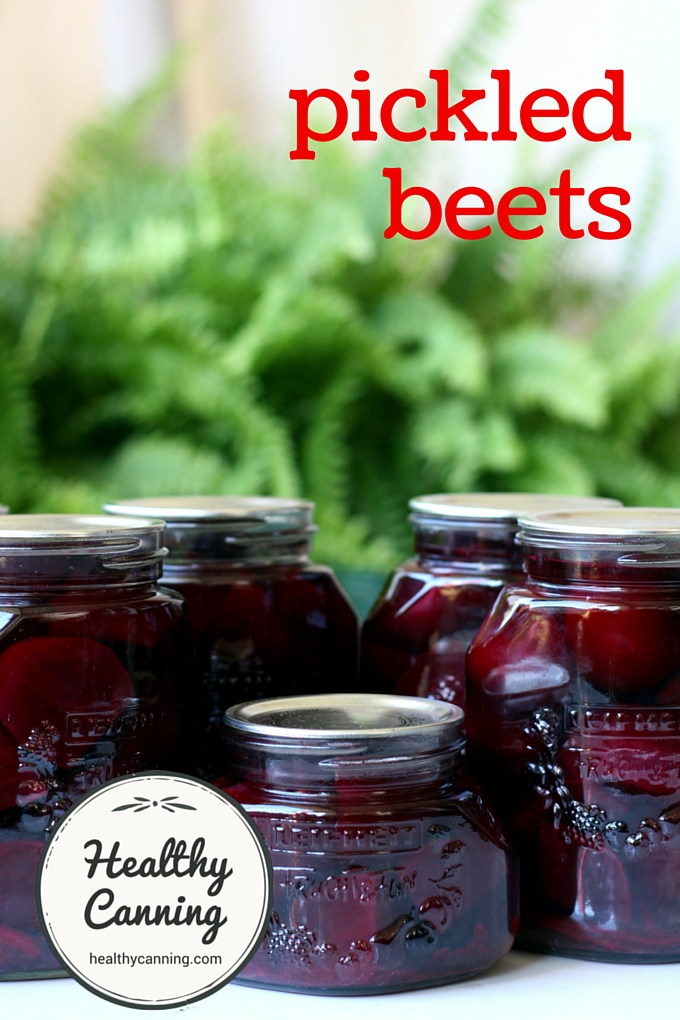 Pickled beets 2001