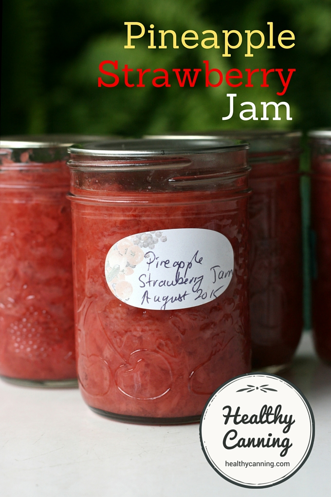 Pineapple Strawberry Jam 2002