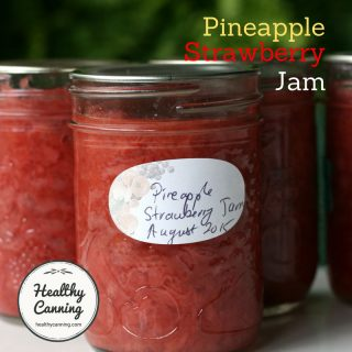 Pineapple-Strawberry Jam