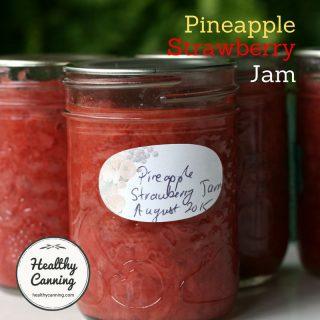 Pineapple-Strawberry Jam