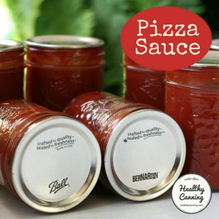 Home-canned Pizza Sauce