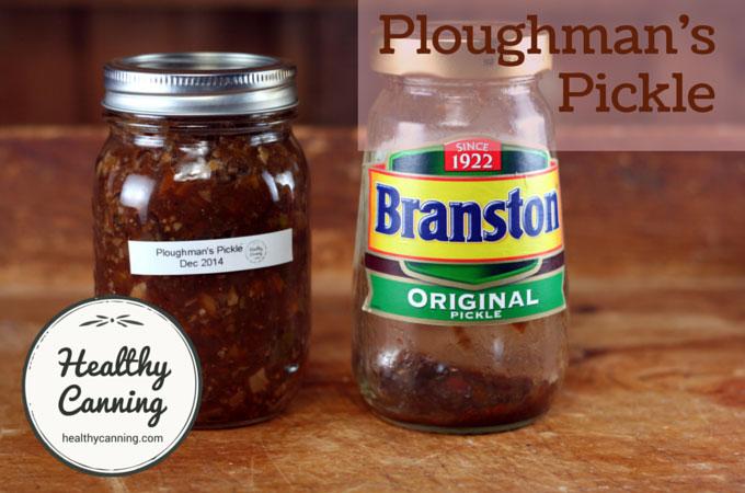 Ploughman's Pickle 005