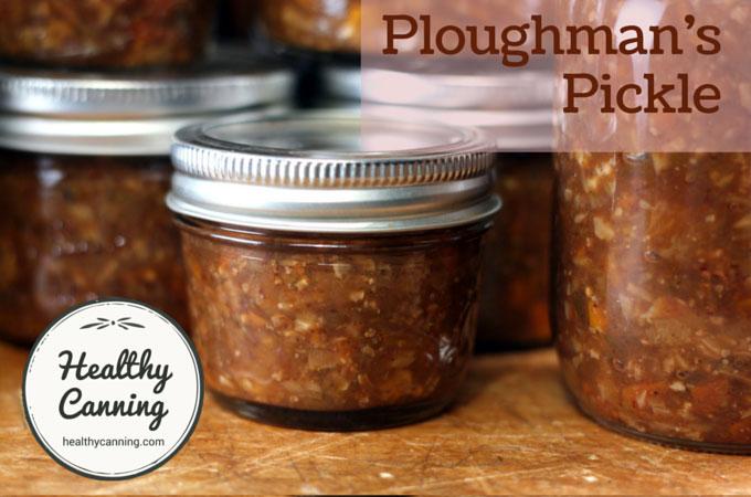Ploughman's Pickle 008