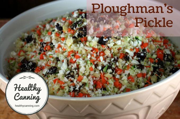 Ploughman's Pickle 104