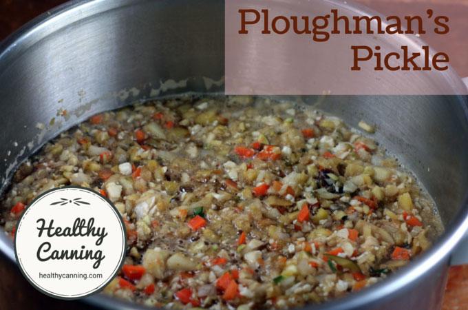 Ploughman's Pickle 105