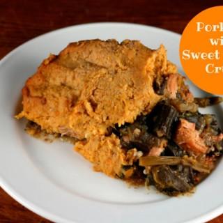Pork Pie with Sweet Potato Crust