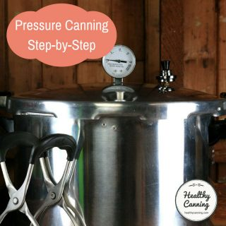 Pressure Canning Step-by-step