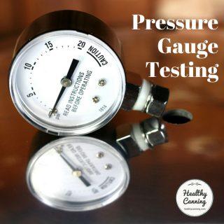 Pressure Gauge Testing