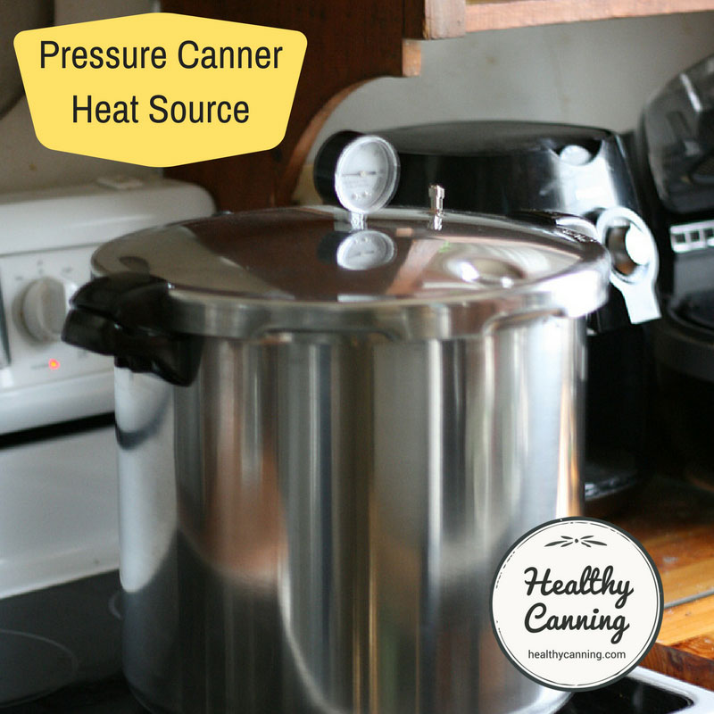 Pressure Canner Heat Source