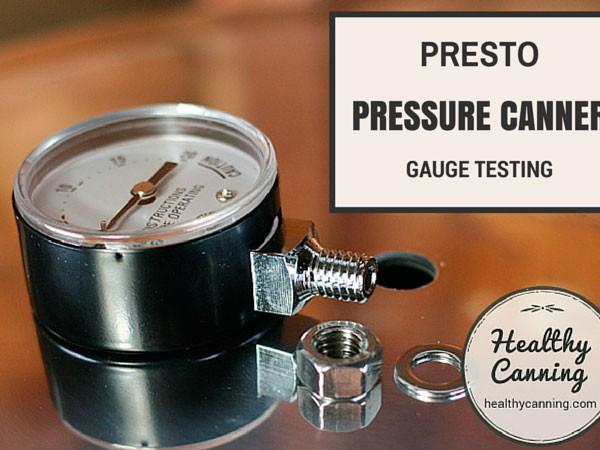 Presto Pressure Canner Gauge Testing