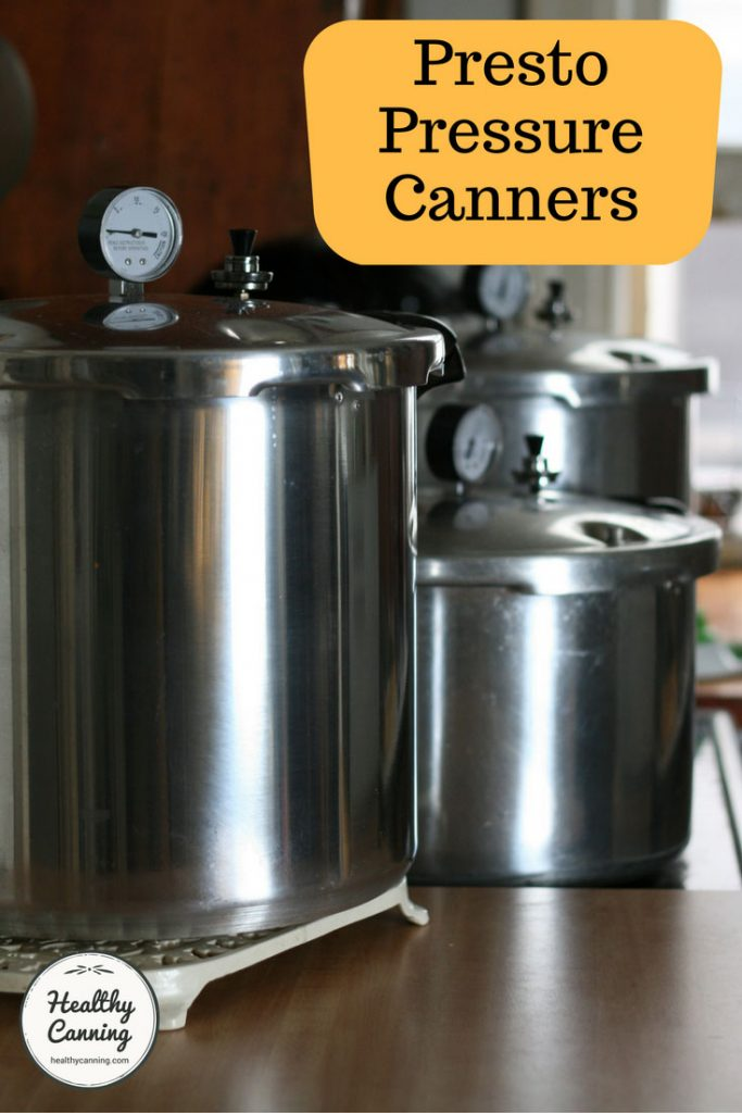 Presto Canners Healthy Canning