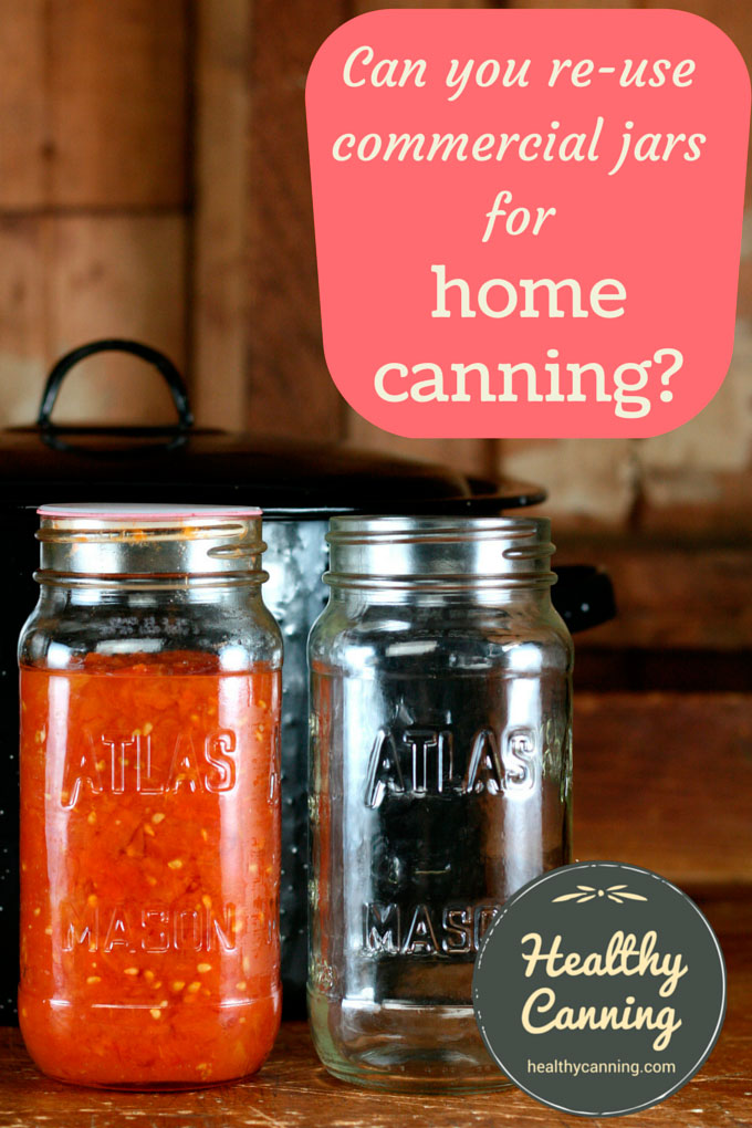 Re-using jars from store-bought products