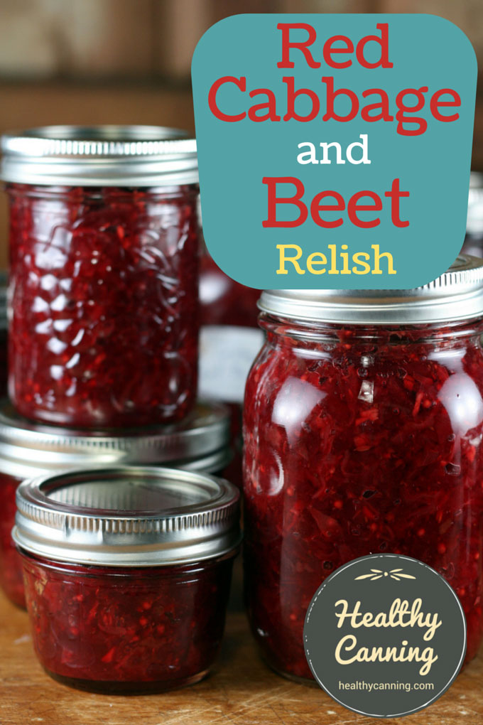 Red cabbage and beet relish 002
