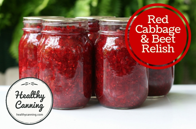 Red cabbage and beet relish 007