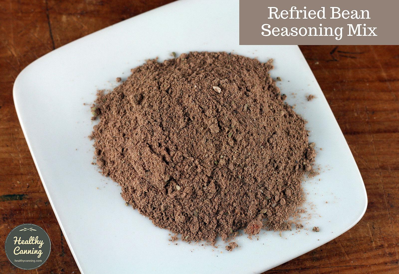 Refried bean seasoning mix