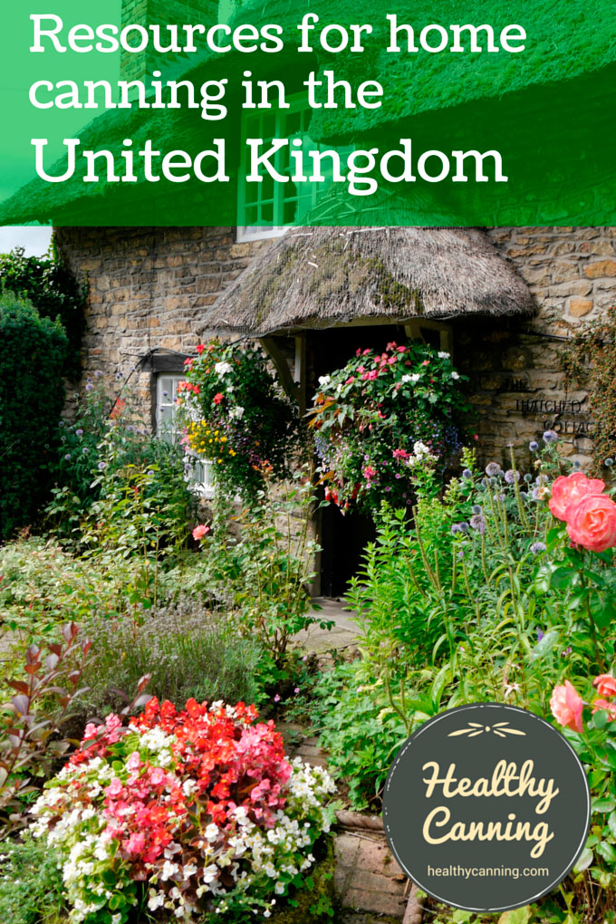 Resources for Home Preserving in the United Kingdom