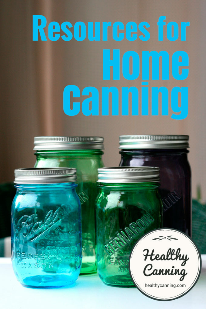 Resources for home canning