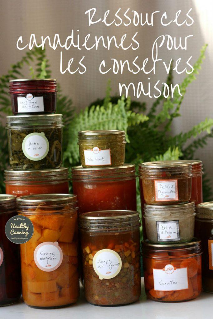 Ressources canadiennes pour les conserves maison healthy for Autoclave pour conserves maison