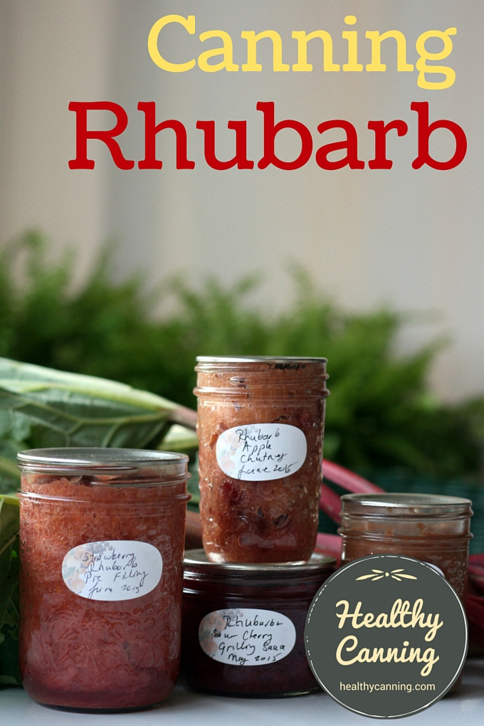 Canning rhubarb tested recipe collection healthy canning rhubarb home canning recipes forumfinder