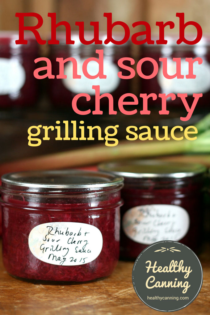 Rhubarb Grilling Sauce 001
