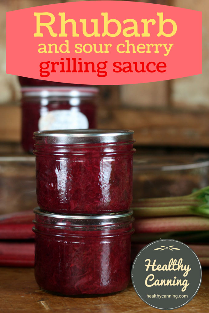 Rhubarb Grilling Sauce 004