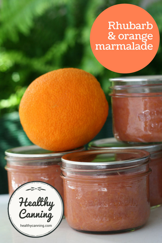 Rhubarb and orange marmalade 002