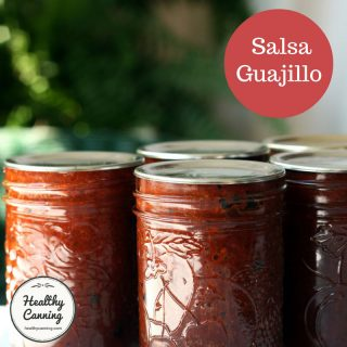 Roasted Tomato Guajillo Salsa