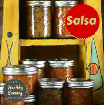 canning salsas