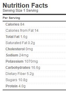 Spaghett Sauce Nutrition