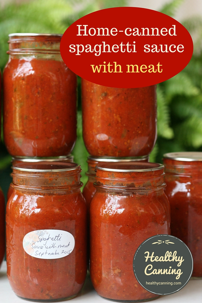 Spaghetti Sauce 2001