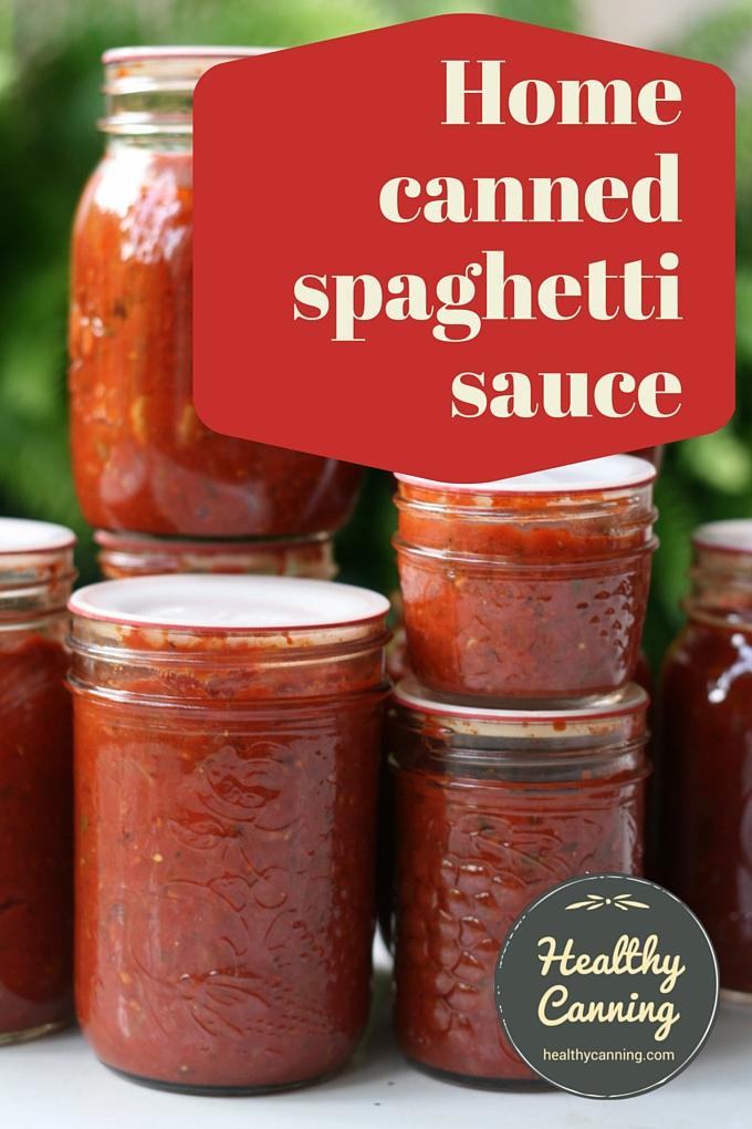Spaghetti Sauce 2002