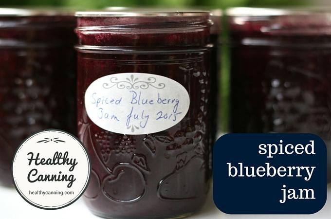 Spiced Blueberry Jam 2003