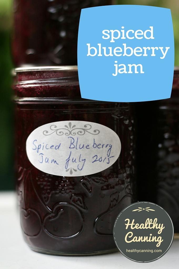 Spiced blueberry jam 2001